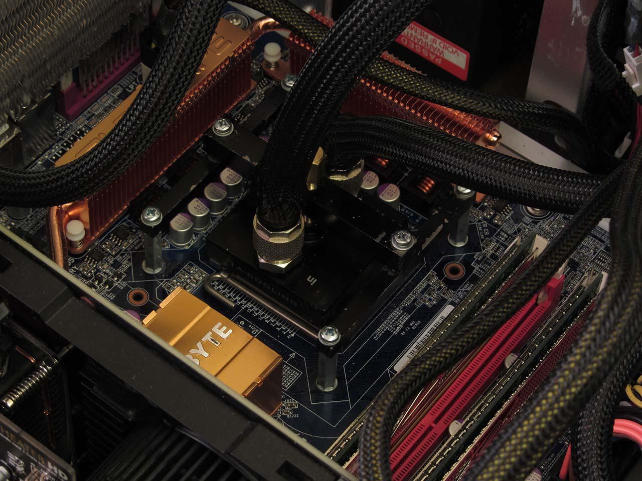 Q6700 GTX 470 Braided Sleeving tubes