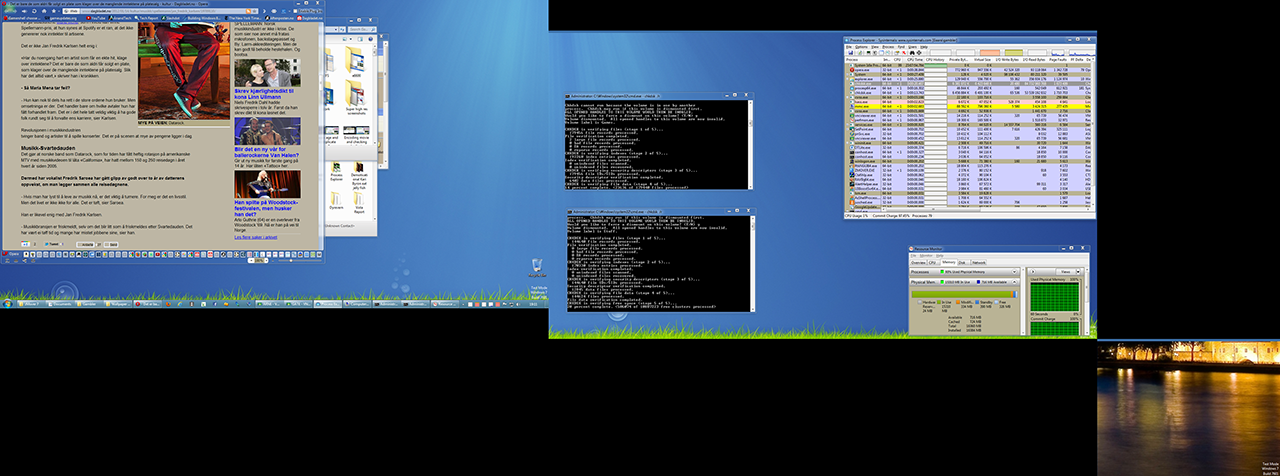 Desktop dummy monitor