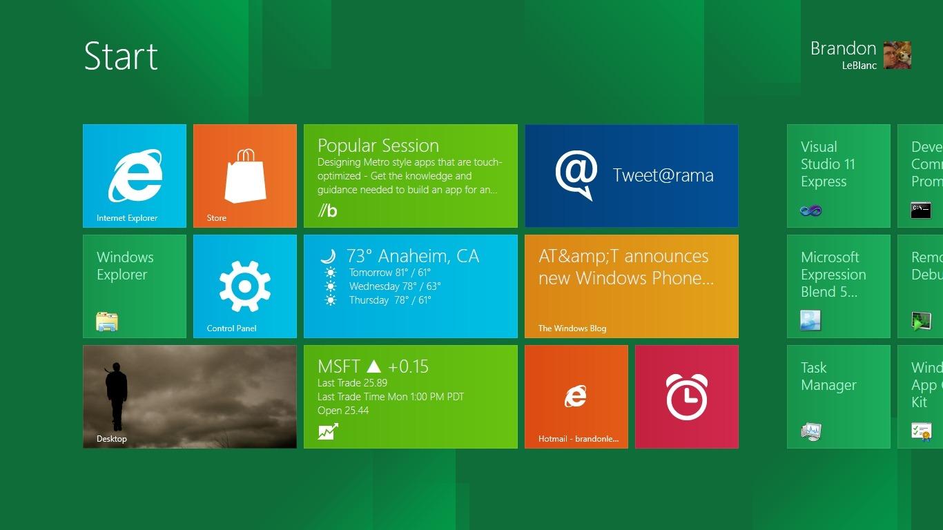 Windows 8 Metro