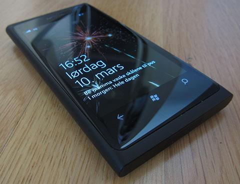 Nokia Lumia 800 fireworks
