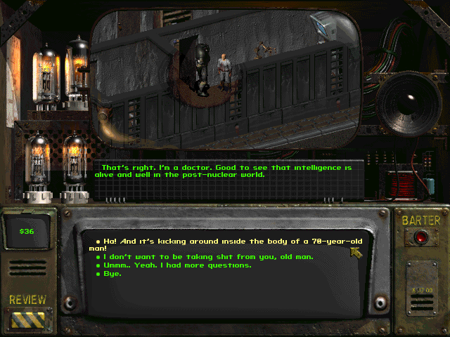 Fallout 2 The repository of our elders 1
