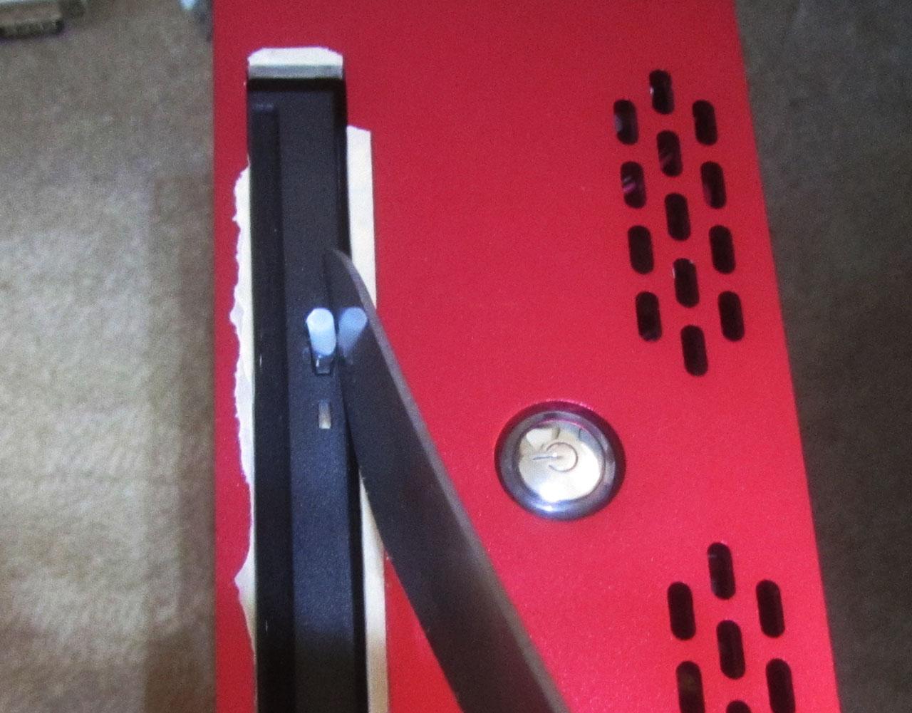Sony BD x8 BC-5640H-03 cutting excess glue